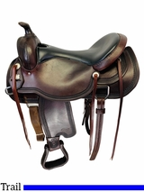 17 Inch Used Reinsman Comfort Fit Trail Saddle Custom *Free Shipping*