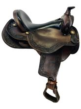 PRICE REDUCED! 17 Inch Used Reinsman Trail Saddle 4103 *Free Shipping*