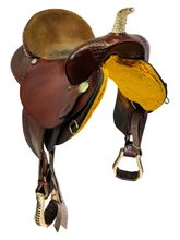 SOLD 2019/11/27  PRICE REDUCED! 17 Inch Used Ruffs Saddle by Dakota Barrel Racer 800 *Free Shipping*