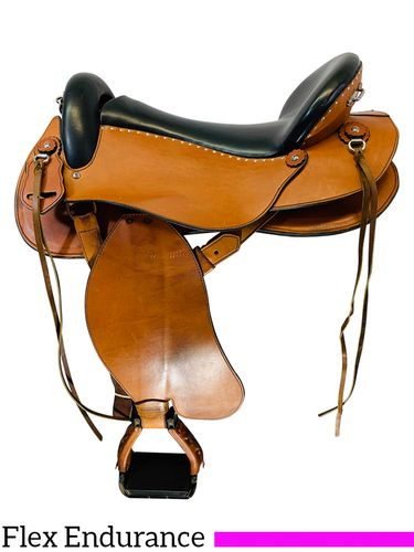 17 Inch Used Timberline SIRA Flex Endurance Saddle 1732 *Free Shipping*