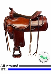 "PRICE REDUCED! 17"" Used Billy Royal All-Around Saddle & Trail Ranch Horse Pleasure 32521 usbr4364 *Free Shipping*"