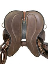 SOLD 2019/08/16  17inch Used Circle Y Julie Goodnight Wind River Flex2 Saddle 1750 *Free Shipping*