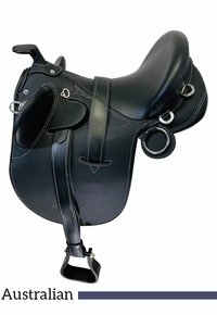 PRICE REDUCED! 17nch Used Down Under Sydney Australian Stock Saddle SAD380 *Free Shipping*