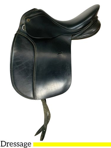 18.5Inch Used Collegiate Dressage Saddle 8549 *Free Shipping*