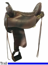 18.5Inch Used Tucker Buffalo Classic Trail Saddle 270 *Free Shipping*
