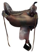 PRICE REDUCED! 18.5Inch Used Tucker Buffalo Classic Trail Saddle 270 *Free Shipping*