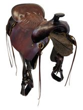 SOLD 2019/09/20 18.5Inch Used Tucker Cheyenne Trail Saddle 167 *Free Shipping*