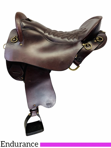 PRICE REDUCED! 18.5Inch Used Tucker Endurance Trail Saddle 159 *Free Shipping*