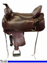 18.5Inch Used Tucker Gen II High Plains Trail Saddle 262 *Free Shipping*