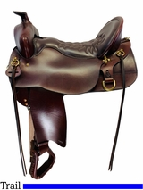 18.5Inch Used Tucker High Plains Trail Saddle 260 *Free Shipping*