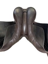 18 Inch Used Barnsby All Purpose English Saddle B5990 *Free Shipping*