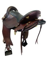 PRICE REDUCED! 18 Inch Used Big Horn Endurance Gaited Flex Saddle 1685 *Free Shipping*