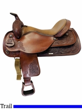 18 Inch Used Circle Y Park and Trail Saddle 3604 *Free Shipping*