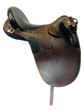 SOLD 2021/03/04  18 Inch Used Down Under Australian Saddle Custom *Free Shipping*