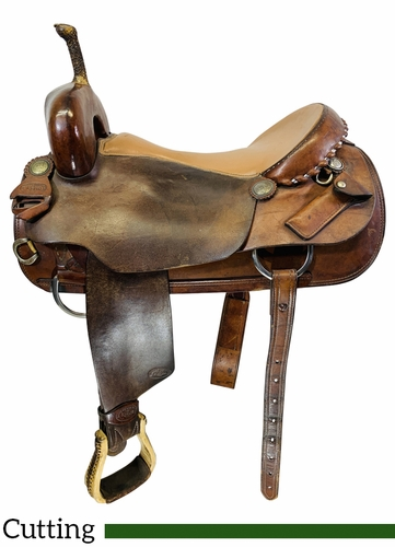 18 Inch Used Saddle Unlimted by Keith Cutting Saddle 2881 *Free Shipping*