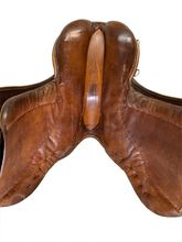 18 Inch Used Stubben Jump and Hunt Saddle B16 204 *Free Shipping*