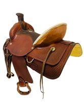 18 Inch Used Western Saddlery Ranch Saddle 1900 *Free Shipping*