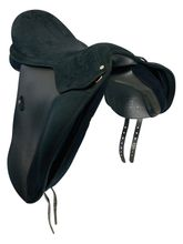 18 Inch Used Wintec Pro Wide Dressage Saddle W19080262 *Free Shipping*