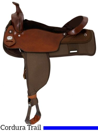 "** SALE **19"" Fabtron The Big 'Un Trail Saddle, Extra Large Seat 7136"