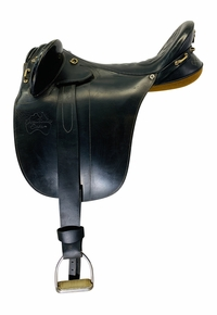 19 Inch Used Down Under Saddlery LongRanch Australian Saddle  *Free Shipping*