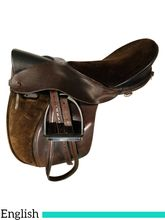 20 Inch Used Peter's Tack Incorporated English Saddle 2000 *Free Shipping*