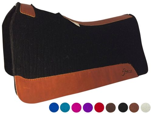 "5 Star ""The Performer"" Full Skirt Saddle Pad 32""L x 32""D *free gift*"