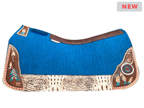 "LIMITED EDITION! 5 Star ""Dream Warrior"" Saddle Pad Standard or Barrel *free gift*"