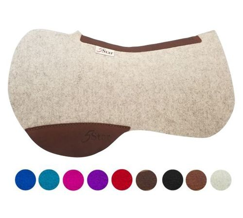 "5 Star ""Extreme Barrel Racer"" Saddle Pad 27""L x 30.5""D *free gift*"