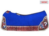 "LIMITED EDITION! 5 Star ""The American"" Full Skirt Saddle Pad Standard or Barrel *free gift*"