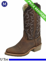 8 EEE Men's Double-H ICE™ Old Town Folklore Roper Boots DH1552 CLEARANCE