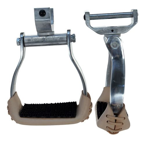 Aluminum Swivel and Lock Stirrup 57-2045