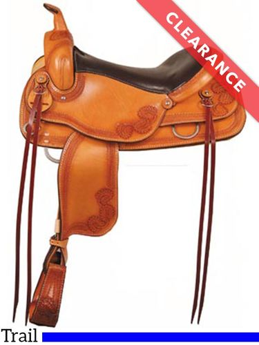 "16"" American Saddlery Flat Top Trail 953, CLEARANCE"
