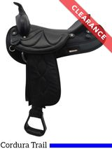 """16"""" Brown Big Horn Sof-Tee Riders Saddle 507, CLEARANCE"""