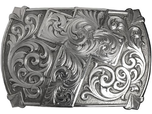 Montana Silversmiths Antiqued Walk of Faith Buckle 30210RTS