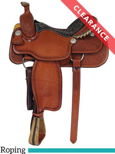 """16"""" Billy Cook Arena Roping Saddle 2147, CLEARANCE"""