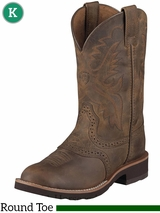 Kid's Ariat Heritage Distressed Brown Boots 10001957