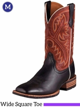 Men's Ariat Black Deertan Quickdraw Boots 10002221