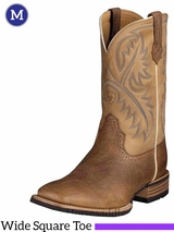 Men's Ariat Tumbled Bark Quickdraw Boots 10002224