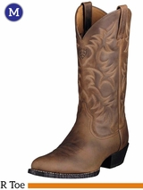Men's Ariat Heritage Distressed Brown Boots 10002204