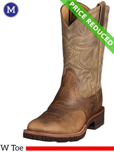 8.5EE Men's Ariat Heritage Earth Crepe Boots 10002559, CLEARANCE