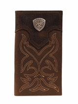 Ariat Rodeo Boot Stitch Shield Wallet a3510802