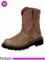 Women's Ariat Brown Bomber Original Fatbaby Boots 10000822