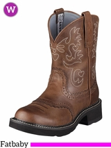 Women's Ariat Russet Rebel Fatbaby Barn Boots 10000860