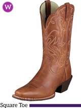 Women's Ariat Legend Russet Rebel Boots 10001056