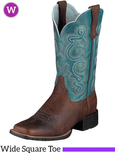 Women's Ariat Brown Oiled Rowdy Quickdraw Boots 10004720