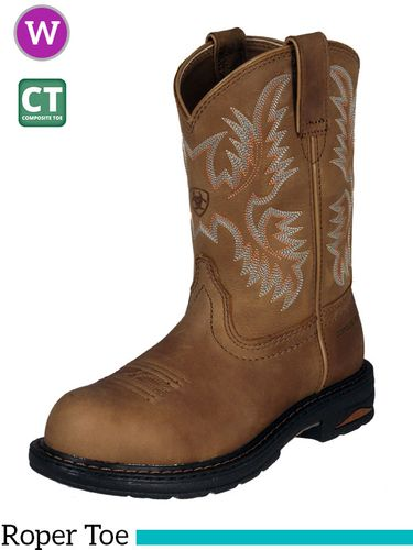 Women's Ariat Tracey Pull On Composite Toe Boots 10008634