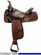 "** SALE **16"" Big Horn Extra Wide Trail Saddle 306"