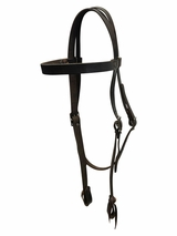 Big Horn Smooth Headstall 3571