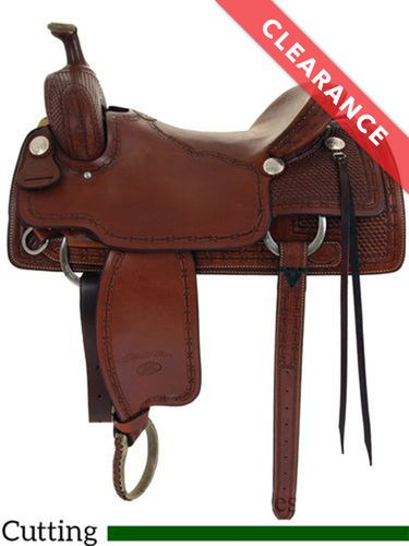"""SOLD 2020  16"""" Billy Cook Classic Ranch Cutter Saddle 8960, CLEARANCE"""