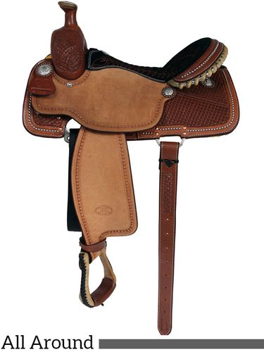 "** SALE **14"" to 16"" Billy Cook Ladies All Around Saddle 2042"